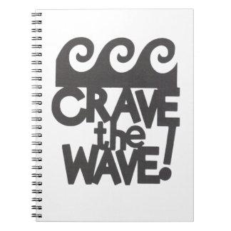 surfer design notebooks
