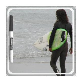 Surfer Dry Erase Board