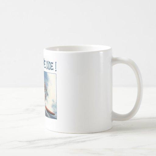 Surfer dude coffee mug