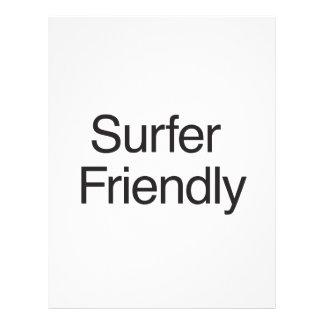 Surfer Friendly ai Personalized Flyer