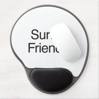 Surfer Friendly.ai Gel Mouse Mat