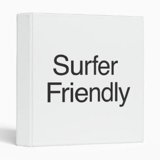 Surfer Friendly Binders