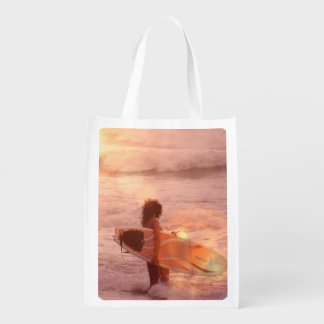 surfer-girl-2.jpg reusable grocery bag