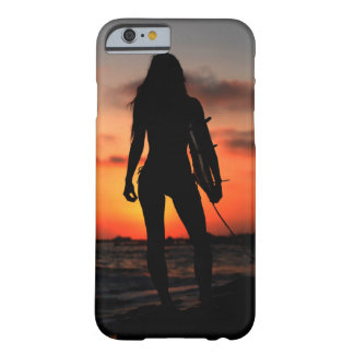 Surfer Girl Barely There iPhone 6 Case