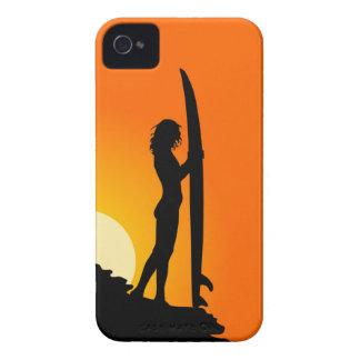 SURFER GIRL CASE iPhone 4 COVER