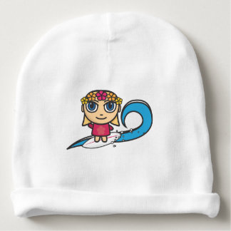 Surfer Girl Cotton Beanie Baby Hat Baby Beanie