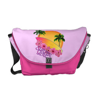 Surfer Girl Courier Bags