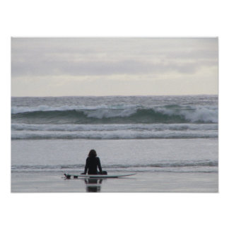 Surfer Girl Poster