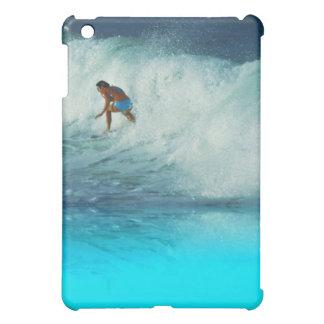 Surfer Girl Rainbow Bay Australia Splash iPad Mini Cover