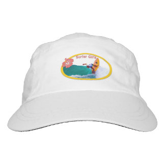 Surfer Girls Off the Lip White Hat