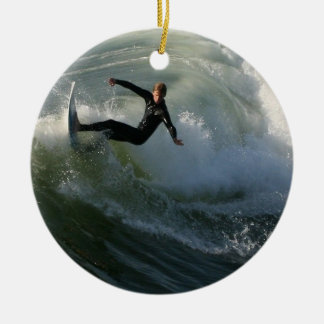 Surfer in a Wetsuit Ornament