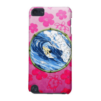 Surfer In Bamboo Circle iPod Touch 5G Covers