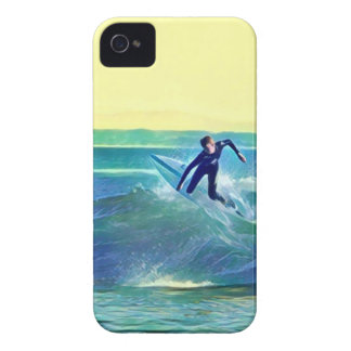 Surfer iPhone 4 Covers