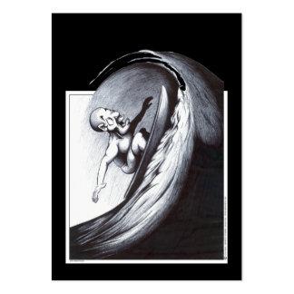 Surfer Large Business Card