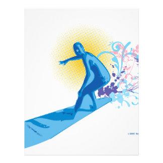 Surfer Letterhead Template