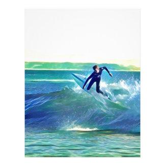 Surfer Letterhead