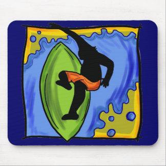 Surfer mousepad