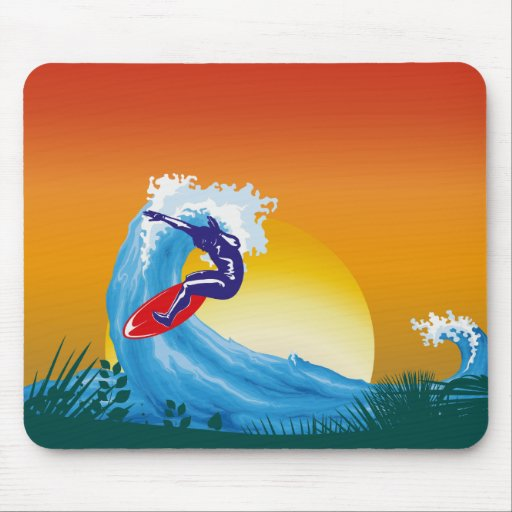 Surfer Mousepads