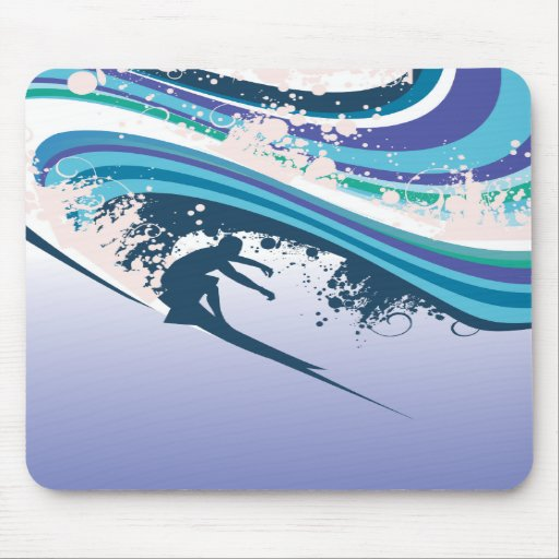 Surfer Mouse Pads