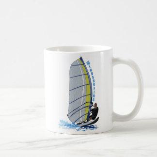 surfer basic white mug