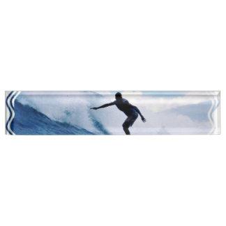 Surfer Nameplates