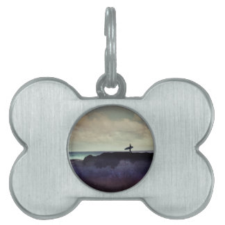 Surfer Pet ID Tags