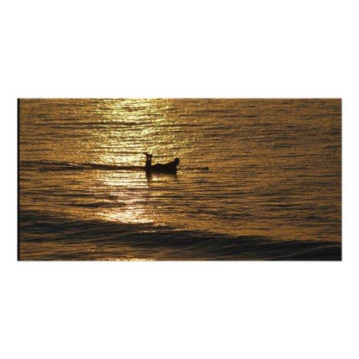 Surfer Custom Photo Card