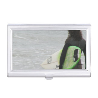 Surfer Case For Business Cards