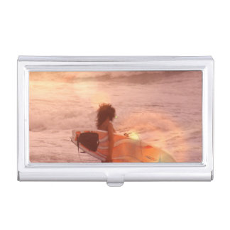 Surfer Business Card Cases