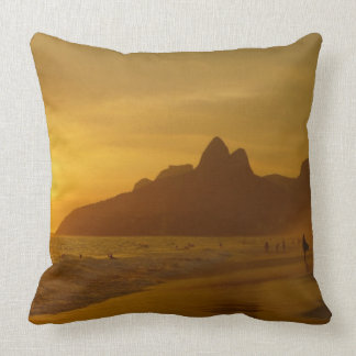 Surfer Pillow - Summer Year-Round