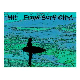 Surfer Postcard