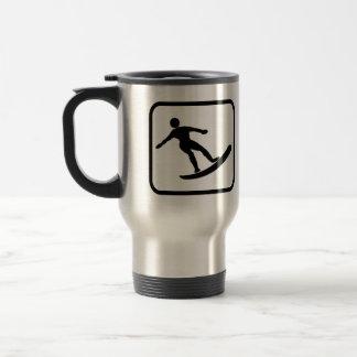 Surfer Pro Stainless Steel Travel Mug