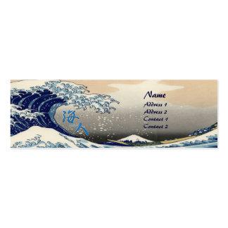 Surfer Profile Card Template Mini Business Card