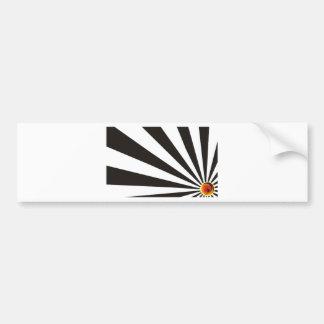 Surfer Rays Bumper Sticker
