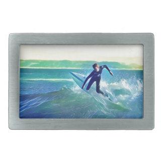 Surfer Rectangular Belt Buckles
