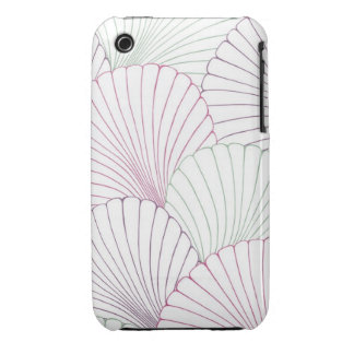 """Surfer Shells"" iPhone 3 Case-Mate Case"