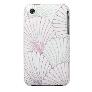 """Surfer Shells"" iPhone 3 Case-Mate Case"