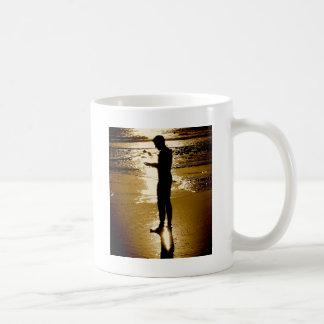 Surfer Sunset Classic White Coffee Mug