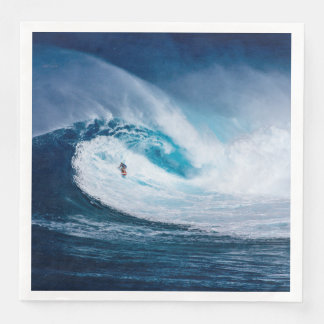 Surfer Surfing Ocean Waves Water Sports Napkins