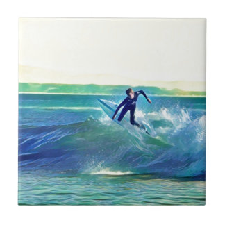 Surfer Tile