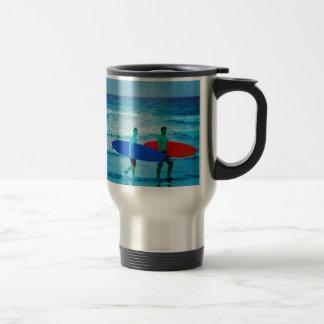 Surfers 15 Oz Stainless Steel Travel Mug