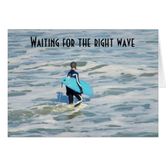 SURFER'S BIRTHDAY WISH GREETING CARD