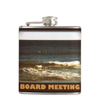 "Surfers ""Board Meeting"" Flask"
