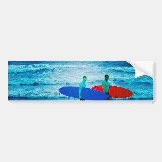 Surfers Bumper Stickers