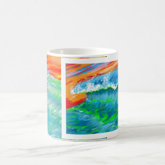 Surfer's Coffee Cup Basic White Mug