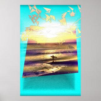 Surfer's Dream Series #1 Poster