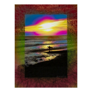 Surfer's Dream Series #2 Poster