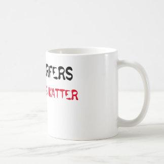 Surfers Lives Matter Classic White Coffee Mug