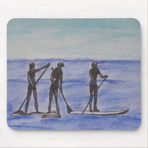 Surfers mousepad