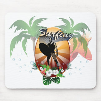 Surfers Mouse Pads